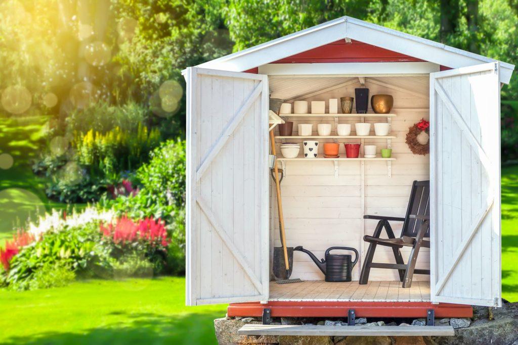 matériau de construction pour son abri de jardin